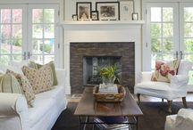 Fireplace & Mantel displays / by Amy Cullinane