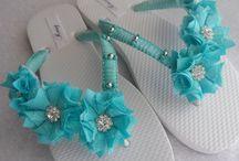 sandal diy decor