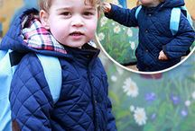 Prince George 2016 / All the events and sightings of Prince George of Cambridge in 2016