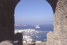 Mykonos, Cyclades / Fantastic Mykonos. Views from the island of Little Venice.