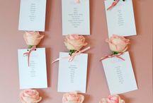 Mariage thème rose