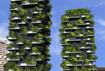Vertical city gardens