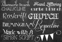 Fonts. Fonts. Fonts. / Fonts for graphics in blogging. Fonts | Blogging | Graphic Design