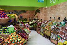 HortiFruti / Uma variedade enorme de frutas e verduras fresquinhas à sua disposição.