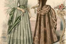 mult századi nőiruhák