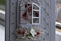 Cards - Christmas Windows + Doors