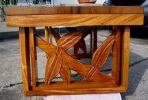 Vintage Hawaiian Rattan Furniture, etc.
