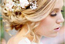 Casamento ♥ Penteado e Maquiagem / Inspirações de penteado e maquiagem para as noivas e madrinhas. Ideias e referências!