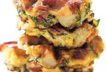 Waffle iron recipies