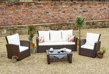 Brown Rattan Garden Furniture / Stylish Rattan Garden Furniture