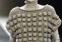 Constructed and 3D knitwear