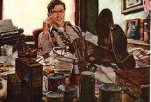 The Illustrators / Albert Dorne, Al Parker, Leyendecker... and so many more!