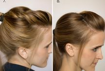 Hair / Hair style ideas, and tips or tricks! / by Courtney King