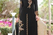 Palazzo Salwar Suits / Wholesale supplier of palazzo salwar suits