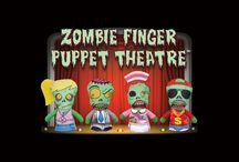 Zombie Finger Puppet Theatre / Buy the puppets • Shoot & upload videos • Win Prizes