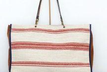 "Allwelove Colección Rayas Rojas / Collection Rayas Rojas- Handmade bags from Spain by the brand www.allwelove.es   Colección Rayas Rojas de la marca ALLWELOVE Bolsos hechos a mano, ""made in Spain"" con tejidos de altísima calidad."