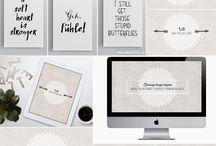 Freebie Typo / Sprüche, Zitate und schöne Poster