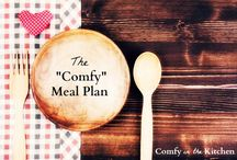 """The """"Comfy"""" Meal Plan"""
