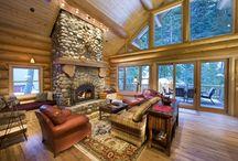 Log Cabin Ideas / by Lauren Pressy