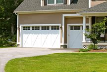 Traditional Garage Doors / The Carriage House and New England collections of garage doors offer a more traditional look common throughout New England.