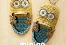 Crochet - baby booties, slippers, sandals