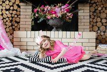 pink boho princess / michal is turning three birthday party theme pink boho princess