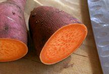 Sweet potatoe growing