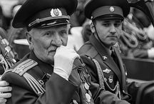Victory Day / The celebration of Victory Day in Russia during World War II