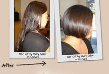 Hair Cuts / #haircuts#hairsalon#hairsalons#beautysalons#hairstyles#hairstylist#hair#hairclor#hairtreatments#salon#hairsalonshuntington#huntington#waxing#makeup#hairremoval# / by Ruby Salon
