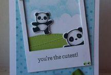 Pandamonium Stamp Set