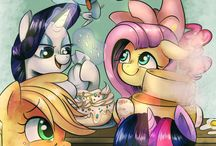 My Little Pony ♡♡♡ / I really don't care if you unfollow me for this. Cause it's a GOOD SHOW.