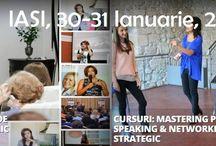Mastering public speaking & Networking strategic, IASI, 30-31 Ianuarie 2015