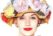 Magazine cover flowers