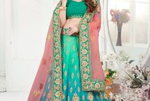 Bridal Couture Style Lehengas / This board is about bridal collection. Indian bridal outfits for brides.