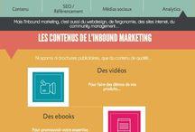 Marketing digital / L'inbound marketing est un marketing centré autour de l'individu, un marketing respectueux qui ne vous pollue pas au quotidien, et c'est ce que nous faisons chez Remarqbl ! Ici vous retrouverez le meilleur de l'inbound marketing : SEO, socialmedia, content marketing, analytics... et bien d'autres surprises ! www.remarqbl.fr