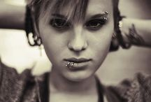 Piercings and hair and tattoo ideas