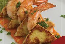 Receitas / Nada melhor do que bons pratos para acompanhar seus novos momentos curtindo seu apartamento!