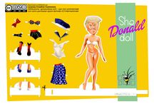 bambole di carta / bambole di carta da stampare e ritagliare e collezionare
