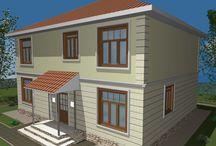 Дома ЭКОНОМ планировки / Осуществляем строительство одноэтажных и двухэтажных каркасных домов и коттеджей по готовым проектам из структурных теплоизоляционных панелей (СИП/SIP панелей) по канадской технологии.   Дома ЭКОНОМ КЛАССА, свободной планировки, стоимостью от 603 000 тенге до 5 389 000 тенге. С общей площадью от 20 кв.м. до 255 кв.м., и высотой потолка от 2,5 метра до 3 метров.