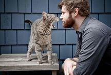 MAN AND CATS / about a new book i like