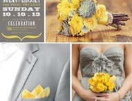 Final Wedding Ideas / Yellow and Grey!! Grey bm dresses and yellow converse. :)  / by Annie Welch