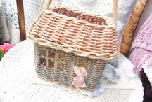 домики плетение