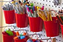 Organize art studio