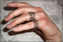 Wire work Jewelry / by Wanda Nardolillo