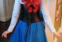 Ariel Costumes for Lizzy