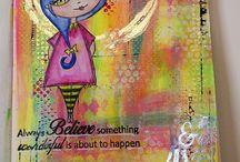 Trish Lattimer stamps