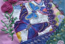 Crazy quilting - Margreet from Holland