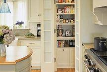 Spiżarnia w kuchni