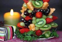 оформление фрукты