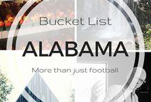 Adventures: Alabama